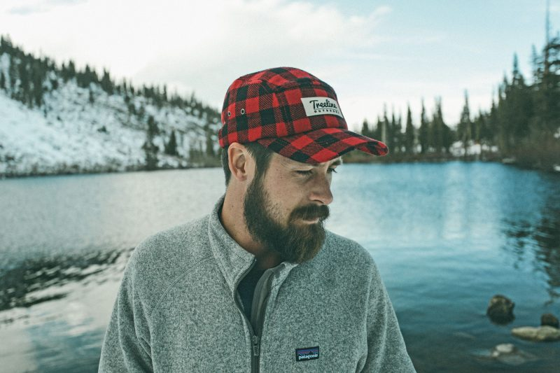 Treeline camp hat design by Hank White Co. Photo: Kylie Fly