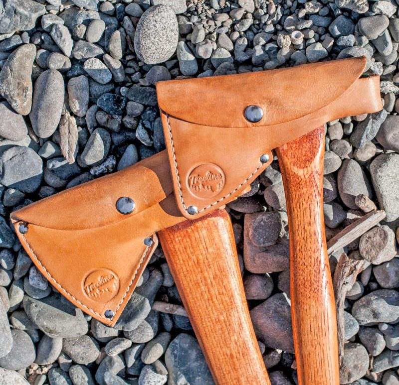 Treeline Axes product design by Hank White Co.
