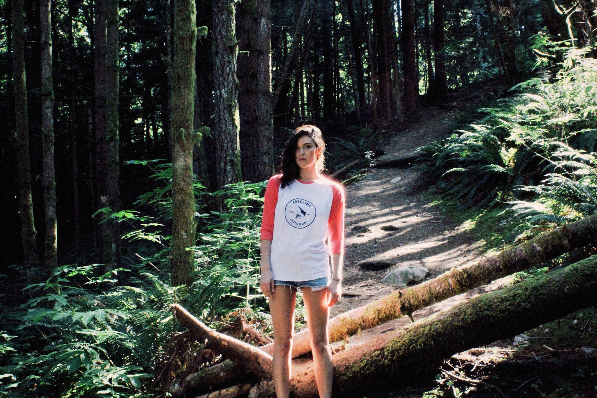 Treeline Raglans designed by Hank White Co